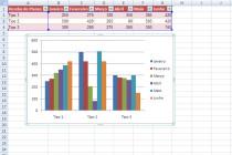Microsoft Excel – Criando um graficorapido