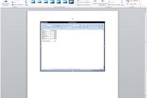 Microsoft Word 2010 – Usando o novo recurso Instantâneo