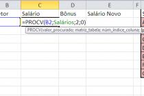 Microsoft Excel – Funcao PROCV (Parte II)