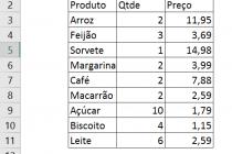 Microsoft Excel – Função SOMARPRODUTO