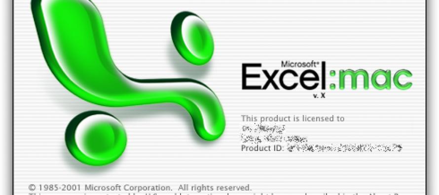 Excel for MAC – Atalhos do Excel for MAC OS