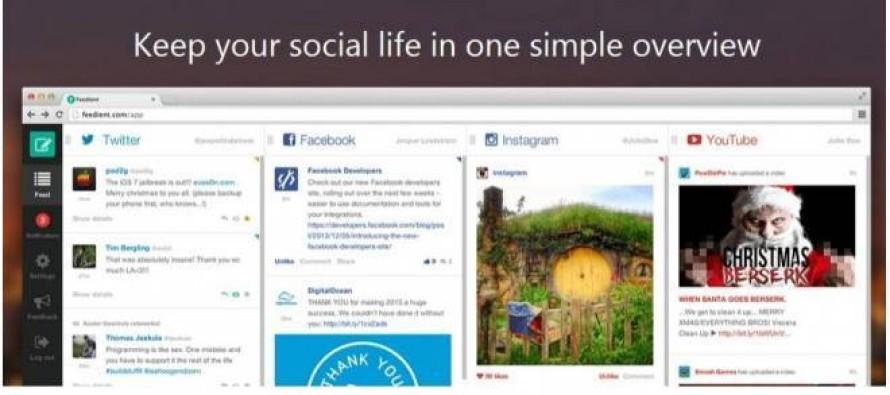 Site reúne Facebook, Twitter, Youtube e Instagram
