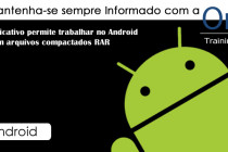 Aplicativo permite trabalhar no Android com arquivos compactados RAR