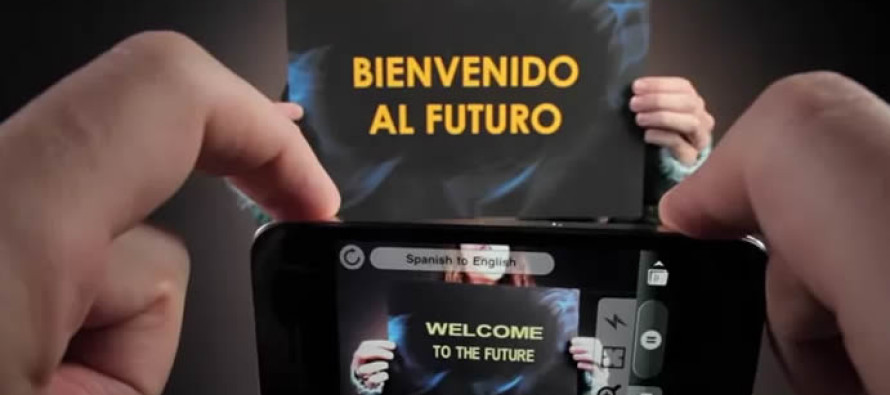 Google Tradutor poderá reconhecer palavras com câmera do celular