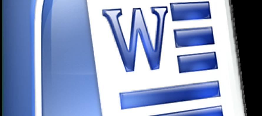 Microsoft Word – Momento decoração no Microsoft Word.