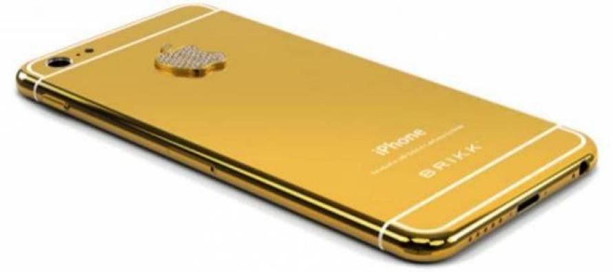 Empresa inicia pré-venda do iPhone 6 de ouro por R$ 10 mil