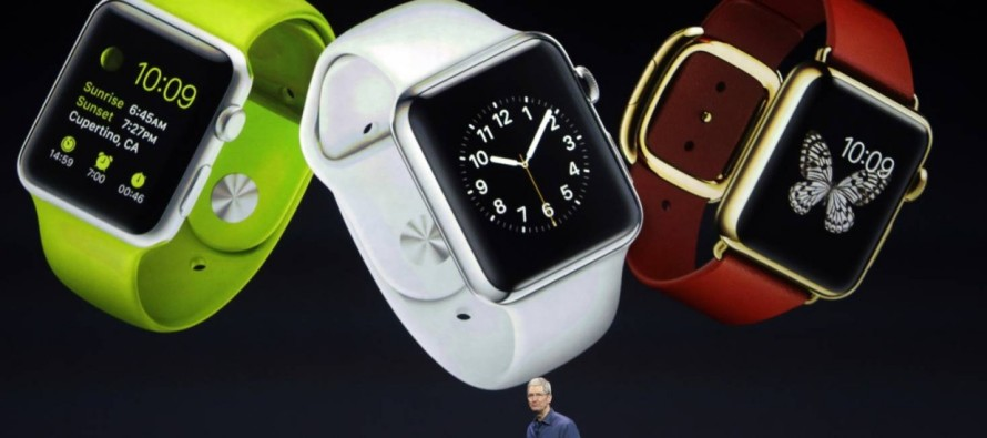 Apple anuncia o iPhone 6 em dois tamanhos e revela o seu relógio inteligente, o Apple Watch