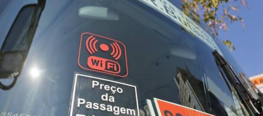 Primeiros ônibus com Wi-Fi começam a circular por São Paulo