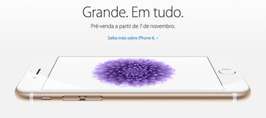 Apple confirma data da pré-venda do iPhone 6 e 6 plus no Brasil