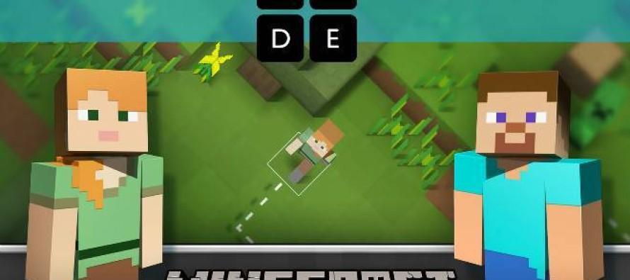 Versão educativa de 'Minecraft' ensina programação a crianças