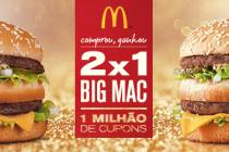 Big Mac e Sunday grátis, além de uma nova batata bem louca