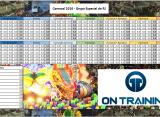 Planilha de apuração do Carnaval 2016